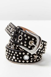 Urban Outfitters Studded Belt Black
