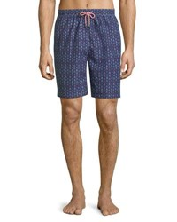 Peter Millar Marauder Swim Trunks Dark Blue