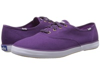 Keds Champion Oxford Wine Purple Canvas Women's Lace Up Casual Shoes