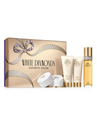 Elizabeth Taylor White Diamonds Mothers Day Set 110.00 Value No Color