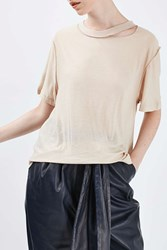 Boutique Reverse Seam Tee By White
