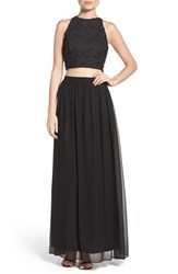 Ali And Jay Women's Two Piece Gown