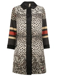 Herno X Pierre Louis Mascia Printed Coat Multicolour