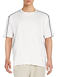 3.1 Phillip Lim Dolman Sleeve Cotton Tee White