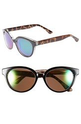 Women's Isaac Mizrahi New York 52Mm Retro Sunglasses