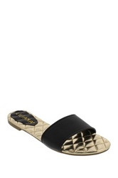 Liliana Farah Slide Sandal Black