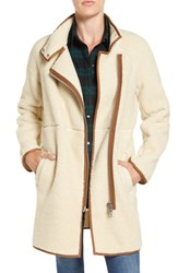 Madewell Women's Sherpa Fleece Cocoon Coat