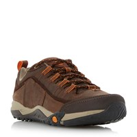 Merrell Helixer Distort Flecked Ghilly Trainers Brown