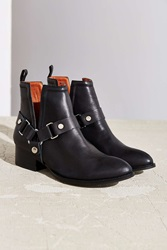 Jeffrey Campbell Musk Harness Ankle Boot Black
