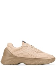 Filling Pieces Ridged Sole Sneakers Neutrals