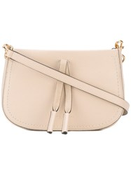 Marc Jacobs 'Maverick' Clutch Bag Women Leather One Size Nude Neutrals