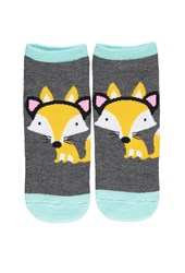 Forever 21 Fox Patterned Ankle Socks