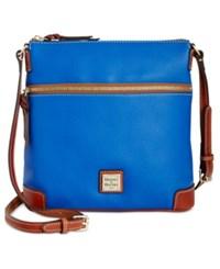 Dooney And Bourke Pebble Crossbody French Blue