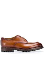Officine Creative Lace Up Oxford Shoes Brown