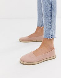 New Look Canvas Espadrille In Oatmeal Cream