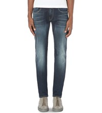 Replay Anbass Hyperflex Skim Fit Skinny Jeans Blue