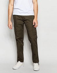 Abercrombie And Fitch Cargo Pants In Olive Olive Green