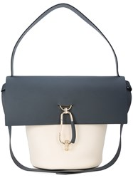 Zac Posen Belay Shoulder Bag Blue
