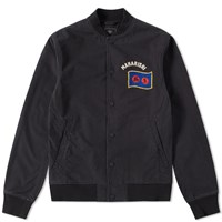 Mhi Maharishi Year Of The Rooster Stadium Jacket Black