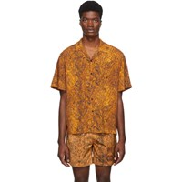 Everest Isles Orange Oil Spill Beach Shirt