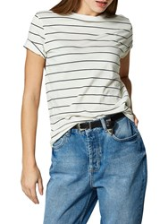 Selected Femme My Perfect Stripe T Shirt Snow White