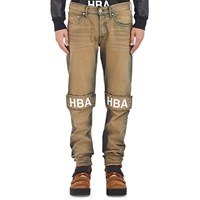Hood By Air Dirty Wash Jeans Blue
