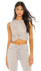 Free People Movement Undertow Tank In Gray. Grey