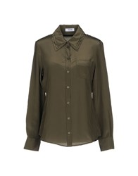 Moschino Cheap And Chic Shirts Military Green