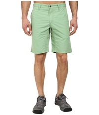 Mountain Khakis Broadway Fit Poplin Short Mint Men's Shorts Green