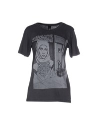 Obey Topwear T Shirts Women Lead
