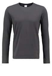 S.Oliver Slim Fit Long Sleeved Top Dark Metal Dark Gray
