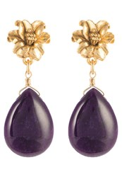 David Aubrey Earrings Gold