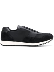 Car Shoe Lace Up Sneakers Black