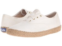 Keds Champion Washed Jute Birch Women's Lace Up Casual Shoes Brown