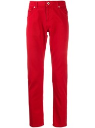 Dondup Mius Low Rise Jeans Red