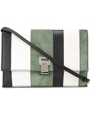 Proenza Schouler Colorblock Small Lunch Bag White