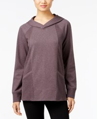 Styleandco. Style Co. Hooded Sweatshirt Only At Macy's Dark Heather Grape