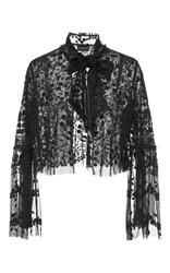 Needle And Thread Primrose Lace Evening Jacket Black