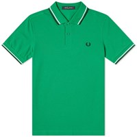 Fred Perry Authentic Twin Tipped Polo Green