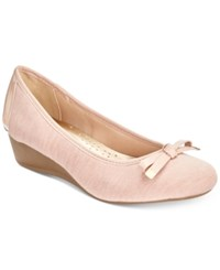Karen Scott Pippa Casual Wedge Pumps Only At Macy's Women's Shoes Rose