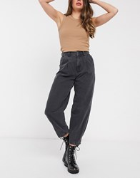New Look Balloon Leg Jeans In Black