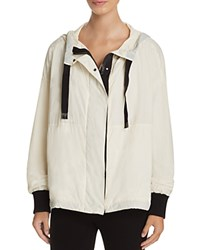 Dkny Color Block Hooded Jacket Gesso