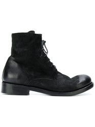 The Last Conspiracy Lace Up Boots Leather Black