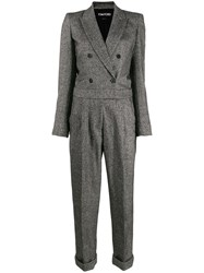 Tom Ford Jumpsuit Tailored Double Breasted Grey