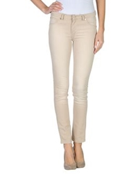 Marani Jeans Denim Pants Beige