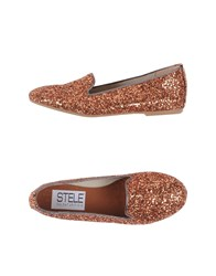 Stele Footwear Moccasins Women Copper