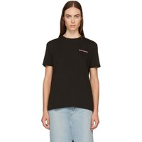 6397 Ssense Exclusive Black 'Escapism' Boy T Shirt