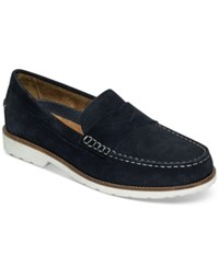 Rockport Men's Classicmove Penny Loafers Men's Shoes New Dress Blues Suede