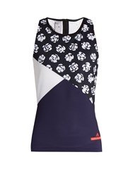 Adidas By Stella Mccartney Floral Print Performance Tank Top Multi