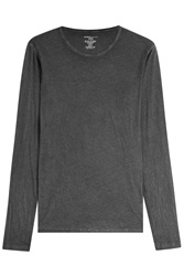 Majestic Cotton Cashmere Long Sleeved Top Gr. M